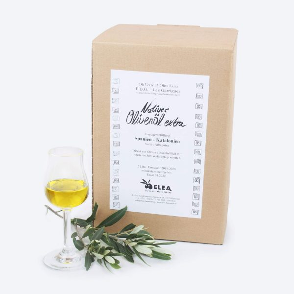Olivenöl, Spanien, Arbequina, ELEA Hannover, Katalonien