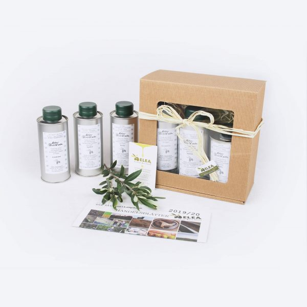 Probier- und Geschenkset Olivenöl ELEA