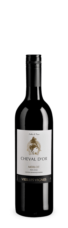 Cheval D'OR, Merlot, Pays D'OC, Frankreich, Languedoc, Rotwein,